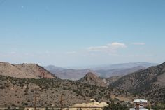 100 mile view - Virginia City, CA