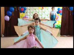 """Танец """"На крыльях мечты"""". Видео Юлии Буговой. - YouTube Prom Dresses, Formal Dresses, Jazz, Kindergarten, Preschool, Colours, Youtube, Education, School"""