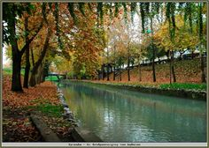 Lithaios river at Trikala town Thessaly