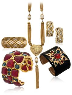 Christie's Vintage Couture bijoux Chanel Yves Saint Laurent Kenneth Jay Lane online