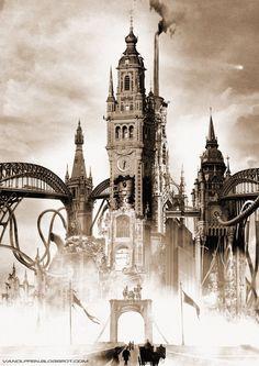 Sam Van Olffen - steampunk artwork