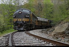 RailPictures.Net Photo: WM 243 West Virginia Central Railroad EMD FP7 at Elkins, West Virginia by Jeff Terry