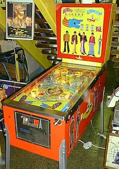 Mary's Want List: A Yellow Submarine Pinball Machine