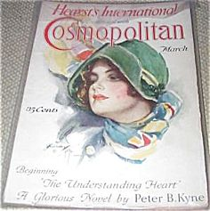 $74 COMPLETE ISSUE OF COSMOPOLITAN MAGAZINE FOR 03/1926. COVER BY HARRISON FISHER