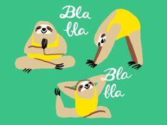 Yoga Sloths