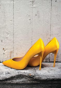 Yellow Bridal Shoes, Yellow Wedding Shoes