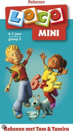 Mini Loco boekje taal/rekenen/hersenkrakers (bijvoorbeeld: Rekenen Tom en Tamira - bol.com 8.95)