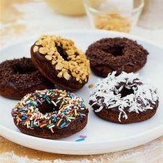 Chocolate Cake Doughnuts | MyRecipes.com