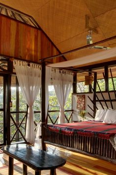 In Belize's western Cayo District, Table Rock Jungle Lodge is a remote eco-escape. #Jetsetter