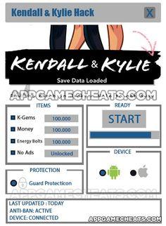 Kendall & Kylie Cheats & Hack for K-Gems, Money, Energy Bolts, & No Ads Unlock  #KendallandKylie #Popular #Simulation http://appgamecheats.com/kendall-kylie-cheats-hack/
