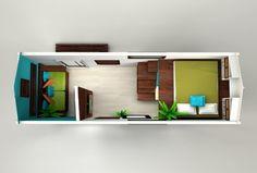 Tropical Tiny House Design
