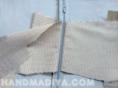 Sew a compact bag. DIY tutorial with patterns.