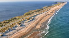 Highway 12 over the Outer Banks