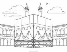 Islamic Coloring Pages Pdf Muslim Book Activities Art Mindful History — ObispaDodeJujuy Islamic Art Pattern, Pattern Art, Al Isra Wal Miraj, Colouring Pages, Coloring Books, Decoraciones Ramadan, Muslim Book, Ramadan Crafts, Islam For Kids