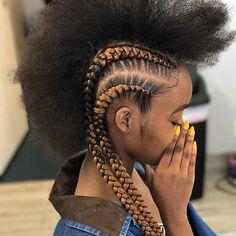 African Hair Braiding : feeding braids, cornrolls hairstyles braids, godess braids, curly and hair - Beauty Haircut Cornrolls Hairstyles Braids, African Braids Hairstyles, Protective Hairstyles, Pretty Hairstyles, Girl Hairstyles, Braided Hairstyles, Hairdos, Protective Braids, Fast Hairstyles