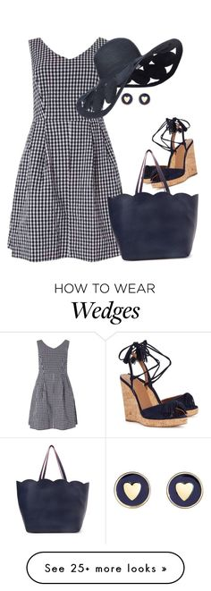 """Untitled #6561"" by lisa-holt on Polyvore featuring Dorothy Perkins, Aquazzura, Deux Lux and Brooks Brothers"