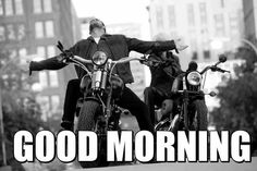 Always a good morning when it starts on a motorcycle.