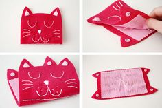 DIY: Cat needle case