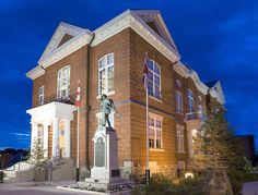 Meaford Hall Arts and Cultural Centre 12 Nelson Street East, Meaford, Ontario #Meaford #Thornbury #GeorgianBay