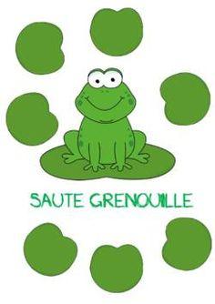 JEU DE LECTURE - LE SAUTE GRENOUILLE - la classe de corinne