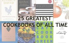25 Amazing Cook Books