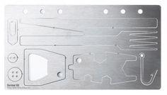 Lasercut survival kits by Steffen Kehrle