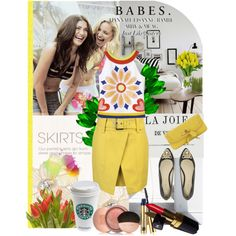 """""""Sunny Side Up"""" by pattykake on Polyvore"""
