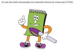 Apuntes de música para 2º, 3º y 4º de ESO en español e inglés :-)