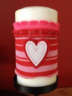DIY Candles DIY Home DIY Crafts :DIY Candle Cozies