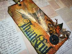 Tim Holtz: 12 Tags of November http://timholtz.com/12-tags-of-2012-november/#