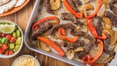 One sheet pan. All the fajitas. McCormick® Mexican-Style Flavor Makers brings the Southwest flavor. And a single pan makes for easy clean-up. Seasoning Mixes, Chicken Seasoning, Chicken Pasta, Baked Chicken, Beef Stew Meat, Roast Beef, Spice Set, Chipotle Chili, Fajitas