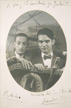 Federico Garcia Lorca e Salvador Dali