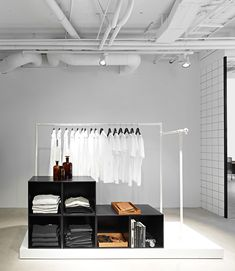 Hope flagship store by Johan Lytz  Christian Halleröd, Stockholm store design