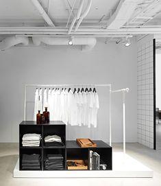 Hope flagship store by Johan Lytz  Christian Halleröd, Stockholm store design