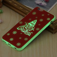 Luminous Christmas iPhone Cover (6/6s). 30% proceeds from every purchase goes to animal charities.