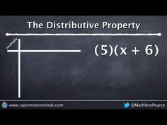 13 best visualizations of math concepts images on pinterest math distributive property introducing a variable inside brackets 5x 6 fandeluxe Choice Image
