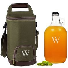 CATHY'S CONCEPTS Personalized Growler & Insulated Cooler