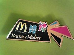 #London olympics 2012 pin #badge - games #maker - collectable,  View more on the LINK: http://www.zeppy.io/product/gb/2/111792375176/