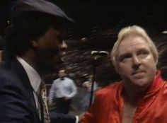 WWE SURVIVOR SERIES 1988 - Slick and Bobby Heenan discuss strategy as their men team up in the main event to take on the Mega Powers