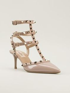 Valentino Rockstud, Poudre Patent Sandals. Get the must-have sandals of this season! These Valentino Rockstud, Poudre Patent Sandals are a top 10 member favorite on Tradesy. Save on yours before they're sold out!