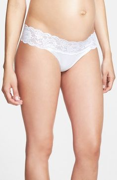 Cosabella Maternity Thong available at #Nordstrom