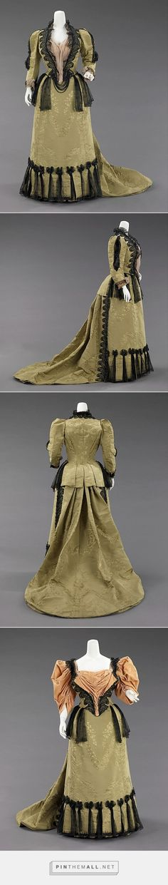 Ensemble by House of Worth 1893 French | The Metropolitan Museum of Art