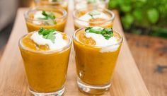 Carrot, Coconut & Coriander Soup