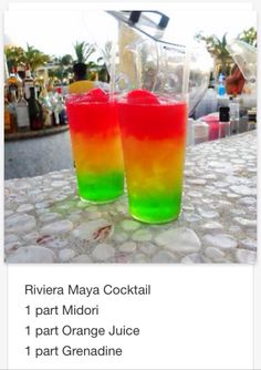 Rivera Shot  # tipsy Bartender