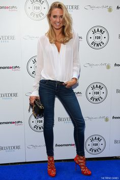 Kimberley Garner at Jeans for Genes Day 2014 Launch Party held at Chinawhite in London, England - September 2, 2014