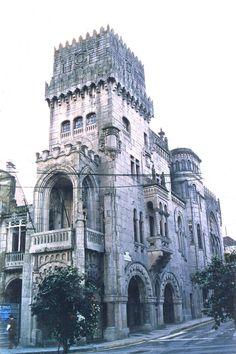 Concello do Porriño (1919-1924). del arquitecto Antonio Palacios Ramilo