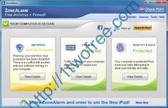 تحميل برنامج زون ألارم Zone Alarm مجانا http://1twofree.com/zone-alarm/