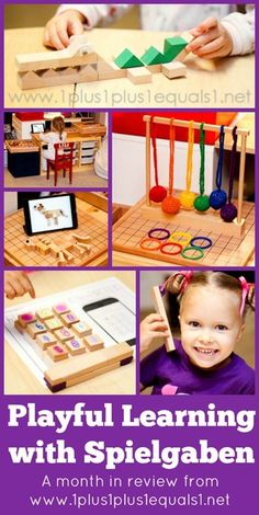 Playful Learning with Spielgaben ~ a month in review from @{1plus1plus1} Carisa