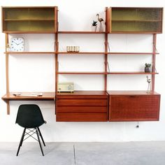 Located using retrostart.com > Wall Unit by Poul Cadovius for Unknown Manufacturer