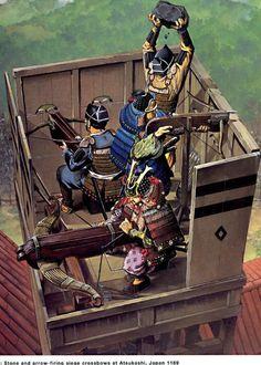 Wayne Reynolds - El asedio de Atsukashi, Japón, 1189